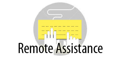 REMOTE ASSISTANCE. LIVE SUPPORT